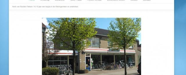 Henkvanrooden.nl de fietsenwinkel van Wieringerwerf en omstreken